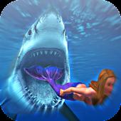 Angry Shark Mermaid Run APK for Bluestacks