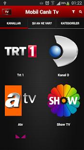Mobil Canlı Tv APK for Bluestacks