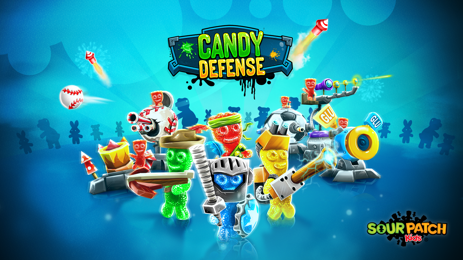Sour Patch Kids: Candy Defense Screenshot 0
