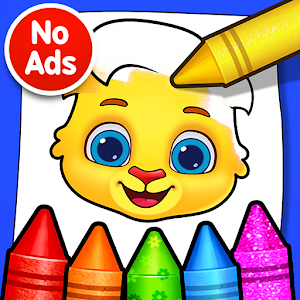 Coloring Games: Coloring Book, Painting, Glow Draw Online PC (Windows / MAC)