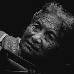Old Face by Yoga Amerta - People Portraits of Women
