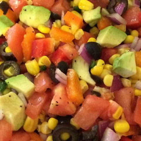 Tomato, Corn and Avocado Salsa