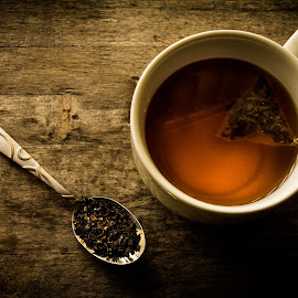 Tea Time by Shawn Oneill - Food & Drink Alcohol & Drinks ( cup, liquid, drink, spoon, tea, drinks )