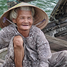 Boat Lady by VJ Thomas - People Street & Candids (  )