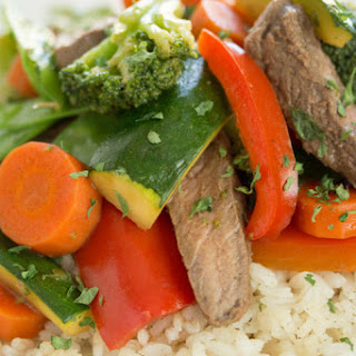 Sirloin Steak Stir-Fry