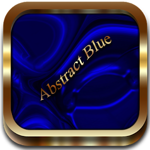 Abstract Blue Go Launcher.apk v.1.2.