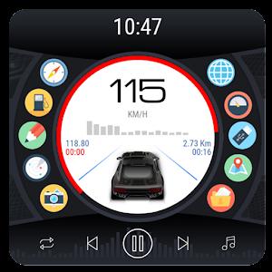 Curve - theme for CarWebGuru launcher For PC