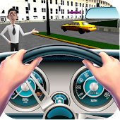 Download Taxi Simulator Parking Games APK on PC