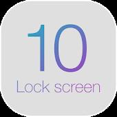 iLock - iLockscreen OS 10 APK for Bluestacks
