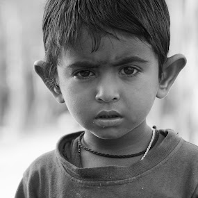 curiosity by Samrat Sam - Black & White Portraits & People