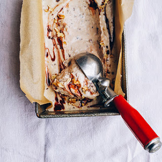 Raw + Vegan Chunky Monkey Ice Cream