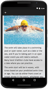 Triathlon - screenshot