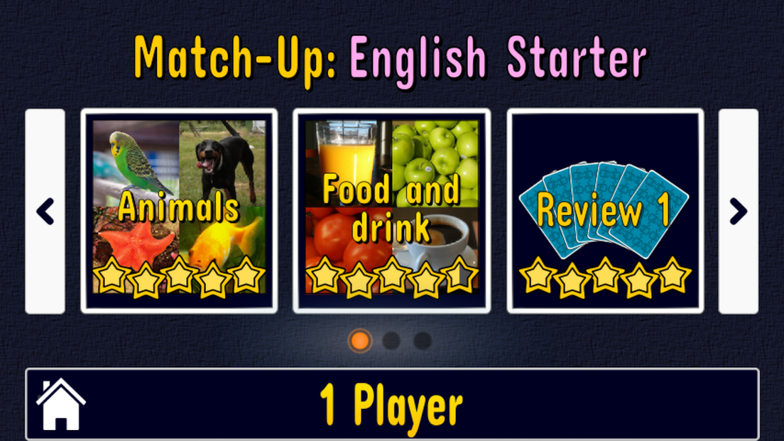 Match Up English Words -No Ads Screenshot 3