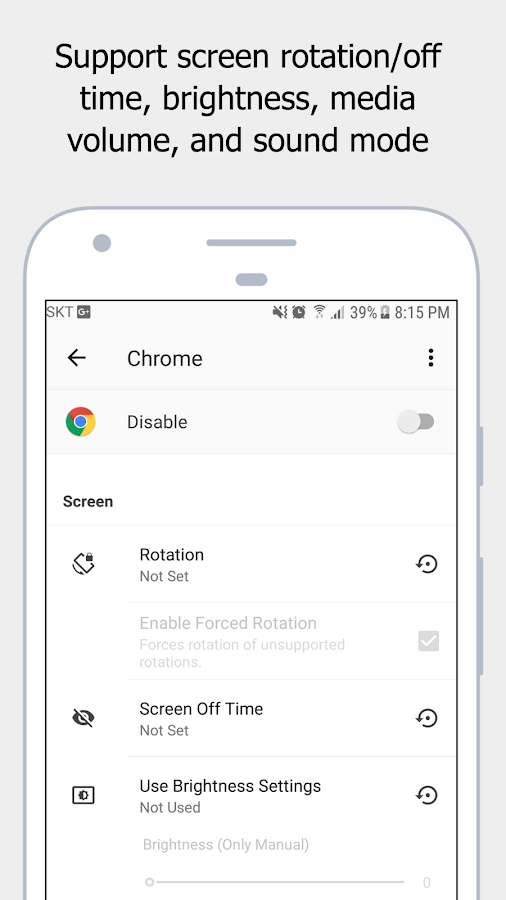 AUTOSET (Android Automation Device Settings) Screenshot 2