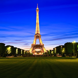 Eiffel, im in love by Andrial Kusuma - Buildings & Architecture Statues & Monuments ( paris, tower, rush hour, eiffel, france )