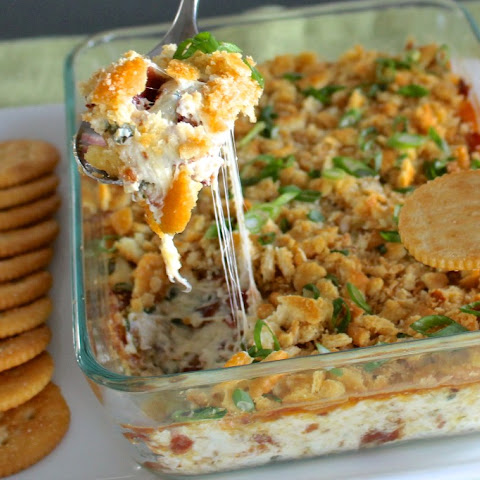 Warm, Cheesy Bacon Dip
