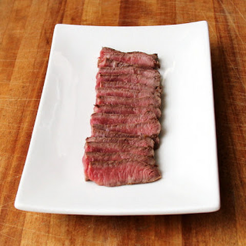 Cast Iron Flat Iron Steak