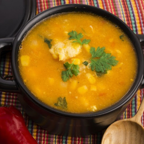 Amish Style Slow Cooker Chicken and Corn Soup