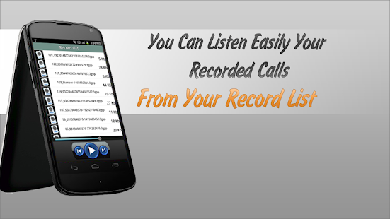 Record Call Automatic - screenshot