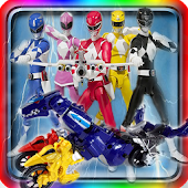 Download Galaxy Hero Robot Rangers game APK to PC