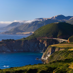 Pacific Coast Highway by Brian Arnold - Landscapes Travel ( pch, pacific coast highway, california, bixby, bridge )