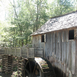 Old Flour Mill @ Cades Cove, TN by Laura Mohoi - Buildings & Architecture Other Exteriors