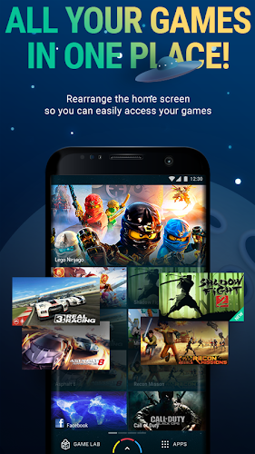 GameBox Launcher Beta Android App Screenshot