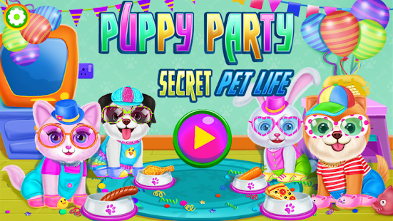 Puppy Party 🐶 - Secret Pet Life Day Care Game for pc