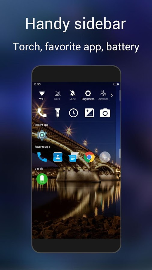 L Launcher -Marshmallow Launch Screenshot 4
