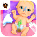 Sweet Baby Girl Doll House - Play, Care & Bed Time APK for Ubuntu