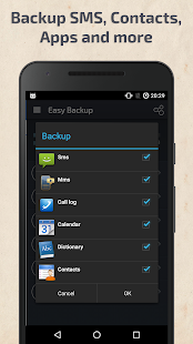Easy Backup & Restore Screenshot