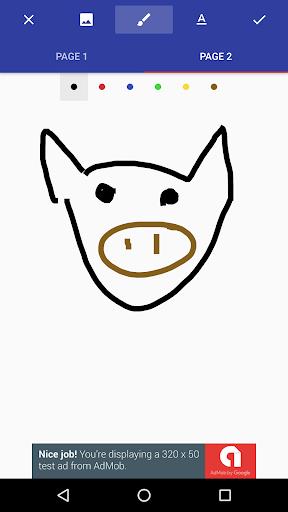 Donald Draws Executive Doodle For PC