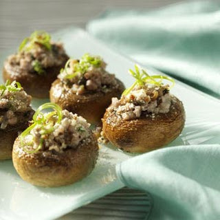 Potluck Sausage-Stuffed Mushrooms