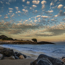 Afternoon clouds by Andreas Loukakis - Landscapes Waterscapes