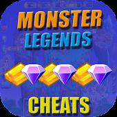 Cheats For Monster Legends Prank !