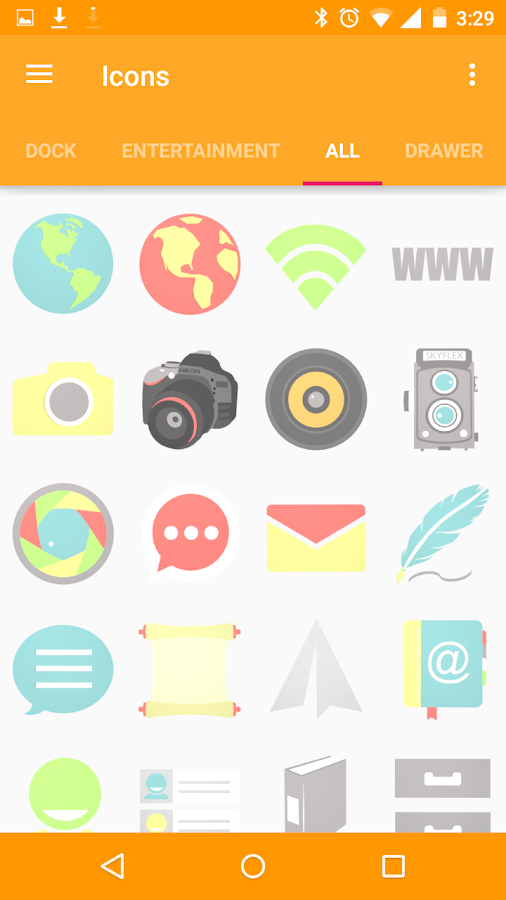 Stock-Icons Icon Pack/Theme Screenshot 13