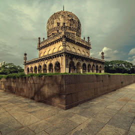 Qutub shahi tombs by Jagadish Chandra - Buildings & Architecture Statues & Monuments ( creative of nizams )