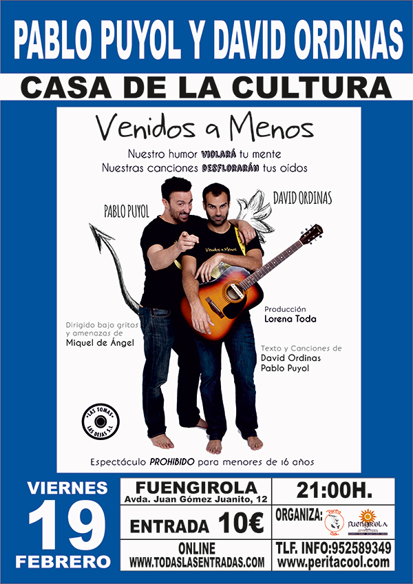 Monologueando por Fuengirola 2 - Pablo Puyol y David Ordinas