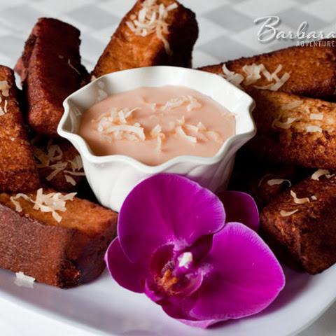Hawaiian Sweet Bread French Toast Sticks