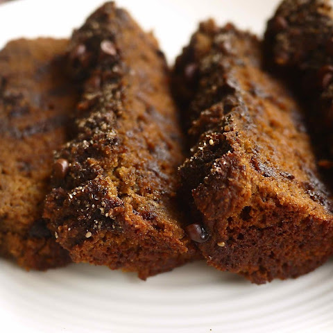 Grain-free Mocha Chip Banana Bread