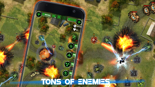 Tower Defense: Civil War - screenshot