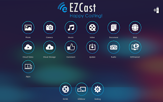 Screenshot of EZCast