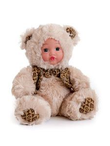 """Кукла """"Anna De Wailly"""" Медвежонок в костюмчике 20см"""
