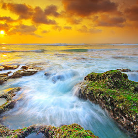 The Dreamland #8 by Aris Winahyu BR - Landscapes Waterscapes ( bali, waterscape, sunset, indonesia, seascape, beach )
