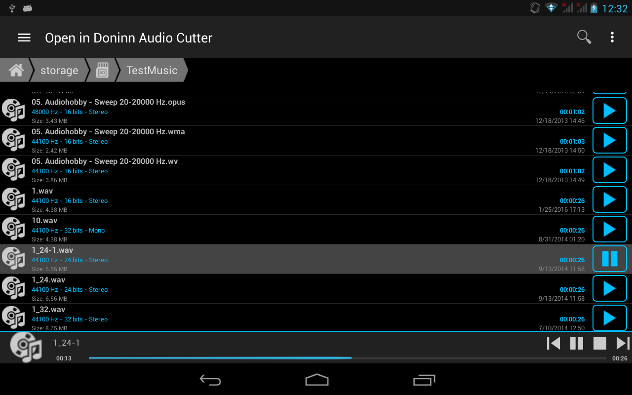 Doninn Audio Cutter Free Screenshot 14