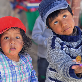 Hope by Tomasz Budziak - Babies & Children Child Portraits ( children portrait, peru, america, boys, children )
