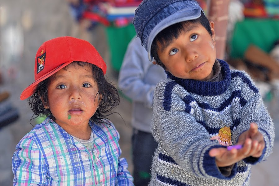 Hope by Tomasz Budziak - Babies & Children Child Portraits ( children portrait, peru, america, boys, children )