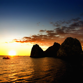 Cabo Sunset by Danniel McKnight - Landscapes Travel ( cabo san lucas mexico, sunset )