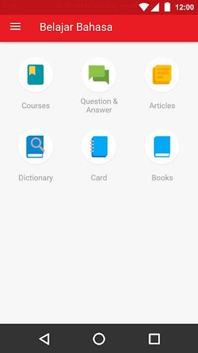 Belajar Bahasa screenshot 1