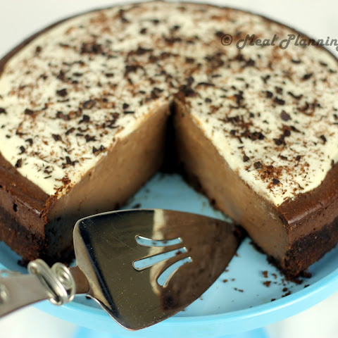 Dark Chocolate Fantasy Cheesecake